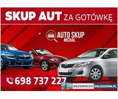 Skup Aut-Skup Samochodów #Piaseczno i okolice# Najwyższe CENY!